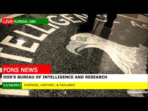 Department of State's Bureau of Intelligence and Research (INR)