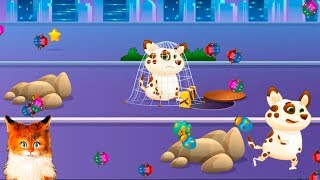 ПЕСИК ДУДУ - БЛОХИ #2 Симулятор собаки как кот Бубу мультик видео для детей говорящая КОШКА ЛИСА