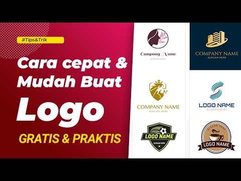 Cara membuat Logo Esport/Gaming dengan mudah [Android/Ios/PC] - How to make Esport Logo easily v 2.0.