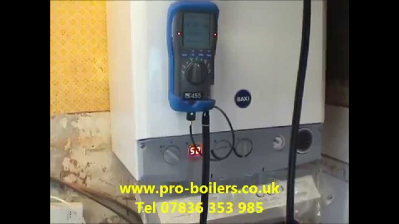 combi boiler install bramhall new combination boiler bramhall - YouTube