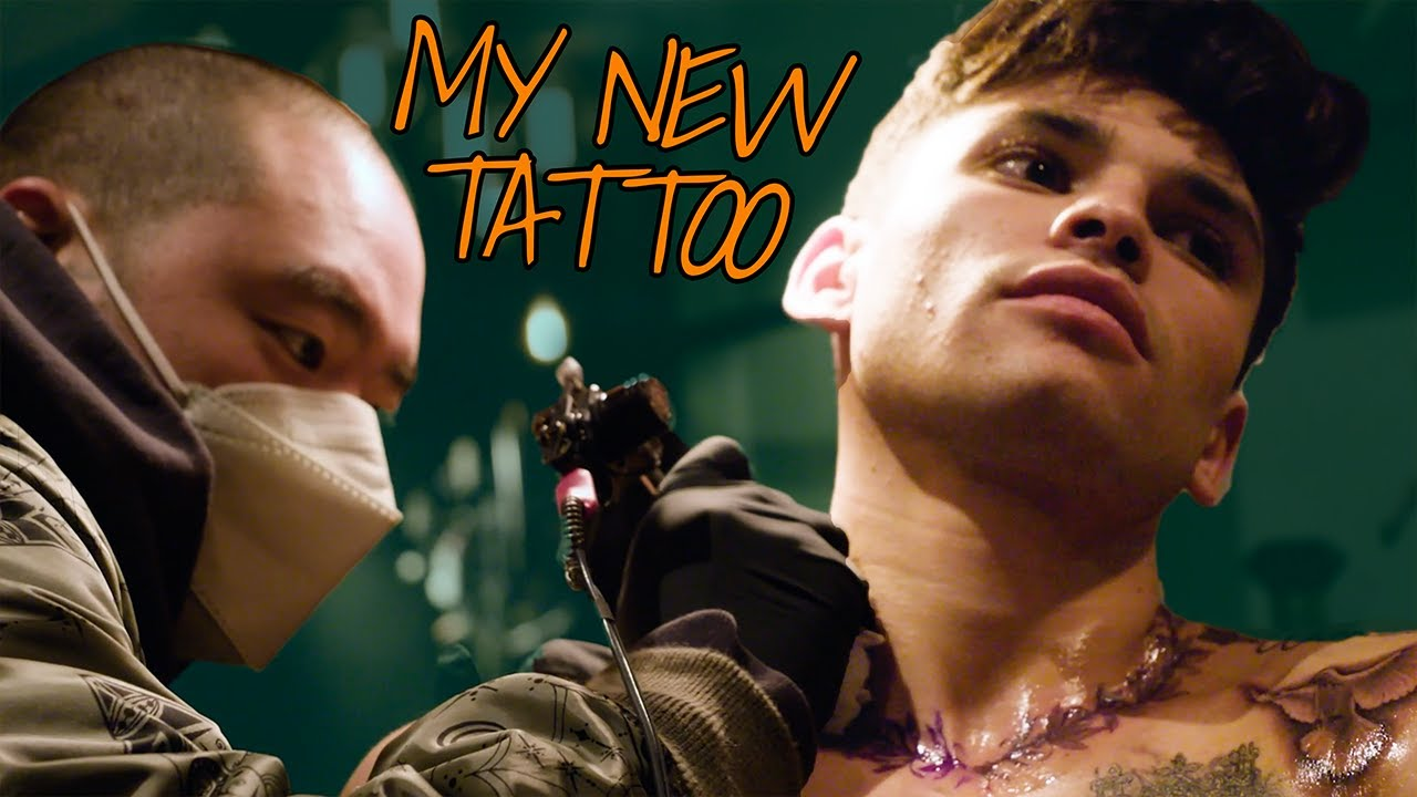 I Got A New Tattoo!!! | Ryan Garcia Vlogs