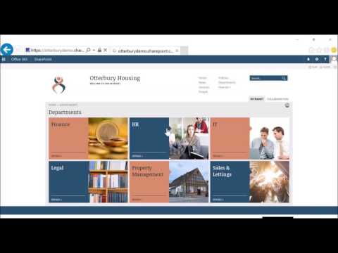 SFW Plaza Intranet for Office 365 – Housing Webinar Replay