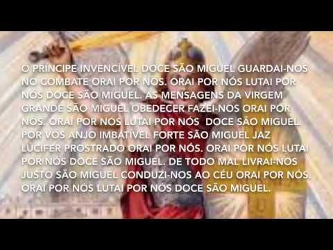 Terço de São Miguel arcanjo.