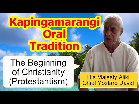 Account of the Beginning of Christianity (Protestantism), Kapingamarangi