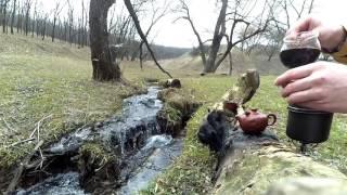 Чайный Дзен - Шу Пуэр на природе (Весна 2017)