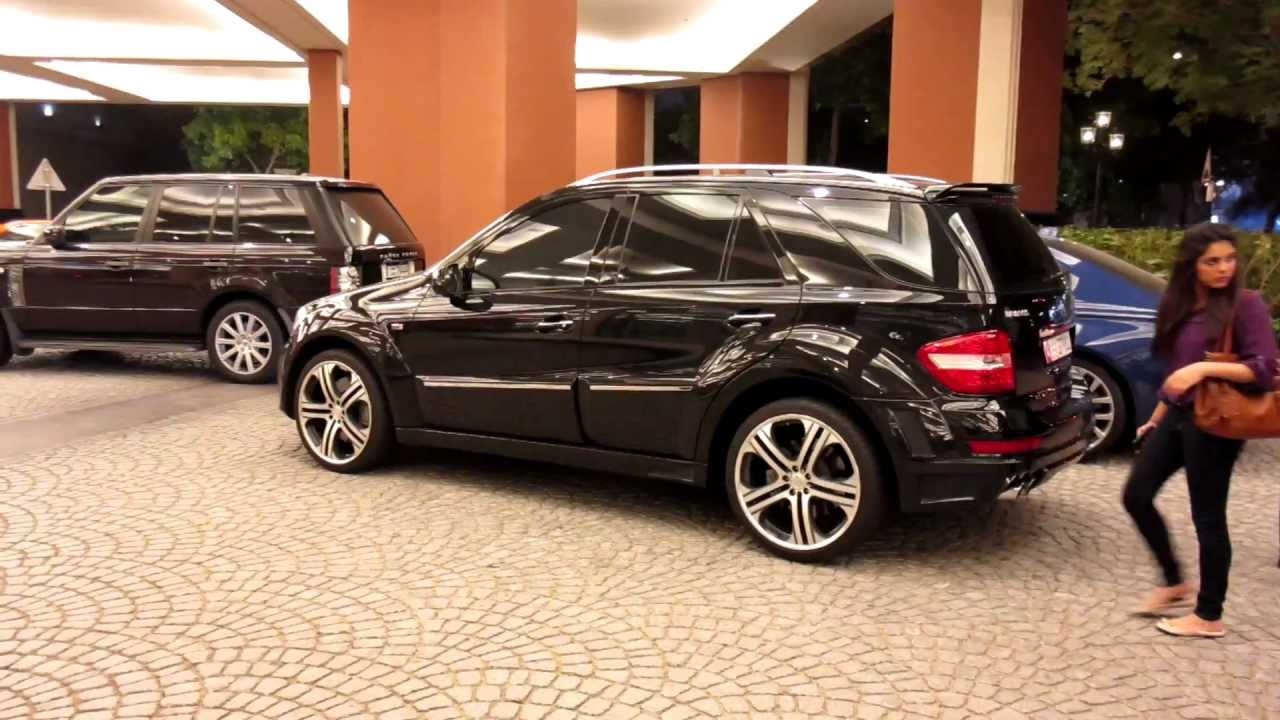 Brabus mercedes benz ml63 amg doovi for Mercedes benz brabus amg