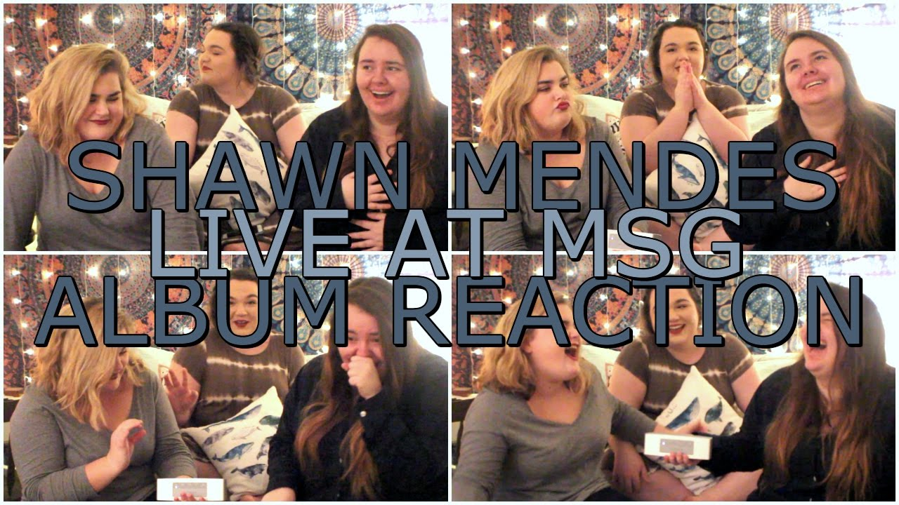 Shawn mendes 39 live at madison square garden 39 album reaction youtube for Shawn mendes live at madison square garden