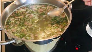 СБОРНАЯ СОЛЯНКА не такая, как у всех. Рецепт вкуснейшего супа из маминой молодости.