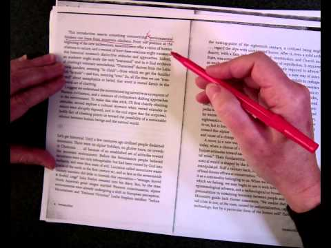 How to annotate a short text