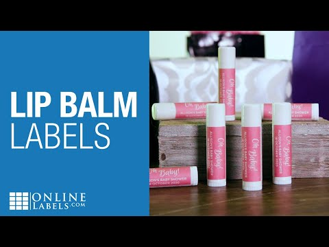 Lip Balm Labels | Product Overview