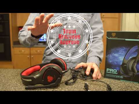 Unboxing & Review  Zenoplige SL100 Red Gaming Headphone with Microphone