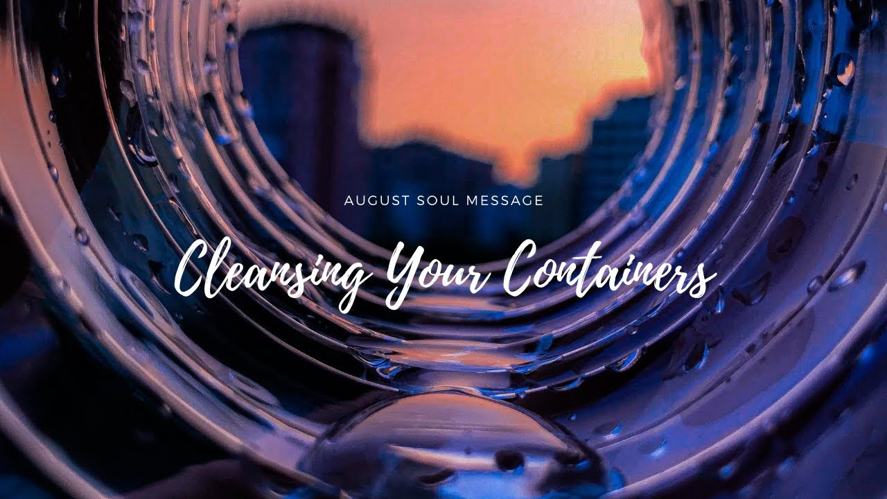 Cleansing Your Containers