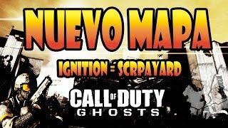 Nuevo Mapa Ignition (Remake Scrapyard MW2) - CoD Ghosts Gameplay