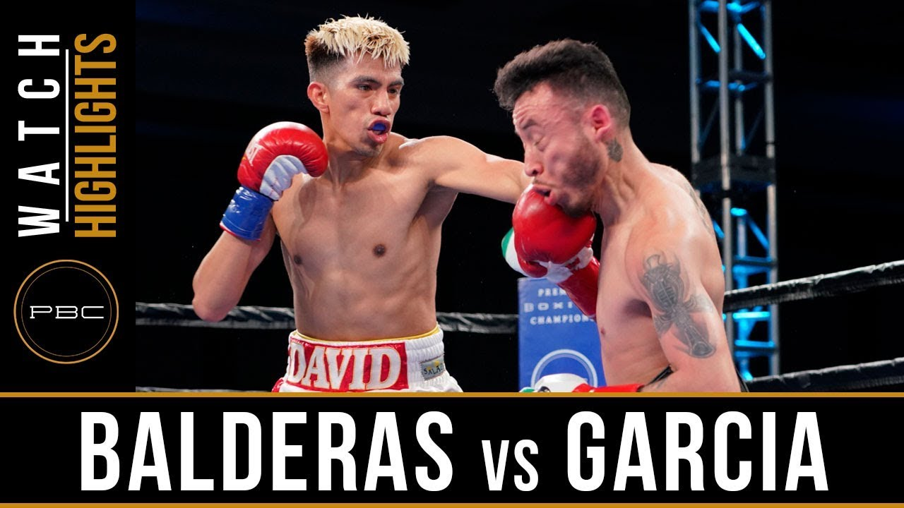 Balderas vs Garcia HIGHLIGHTS: June 1, 2018 - PBC on FS1