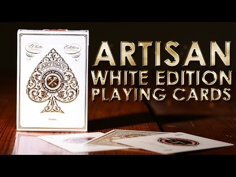 Deck Review - Artisan White Edition Playing Cards [Theory11]