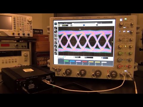 TSP #27 - Experiments and Demo of an Agilent DSA-X 96204Q 160GS/s 62GHz Oscilloscope