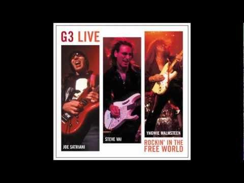 Joe Satriani- always with me always with you (2004) G3- Rockin in the free world