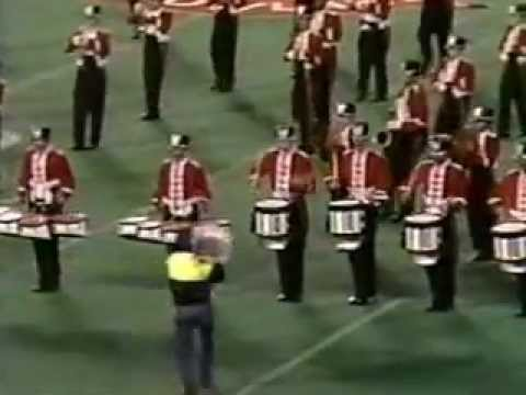 Somerville High School Marching Band NJ 95 West Side Story Drum Solo