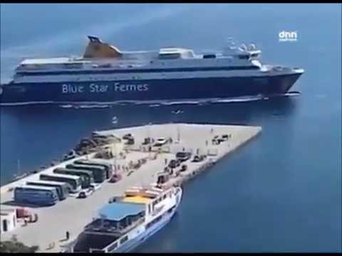 Tokyo Drifting ship // Barco derrapando en el muelle