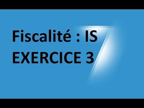 #EP 19 fiscalité: impot sur les sociétés ( EXERCICE 3)| 3/4