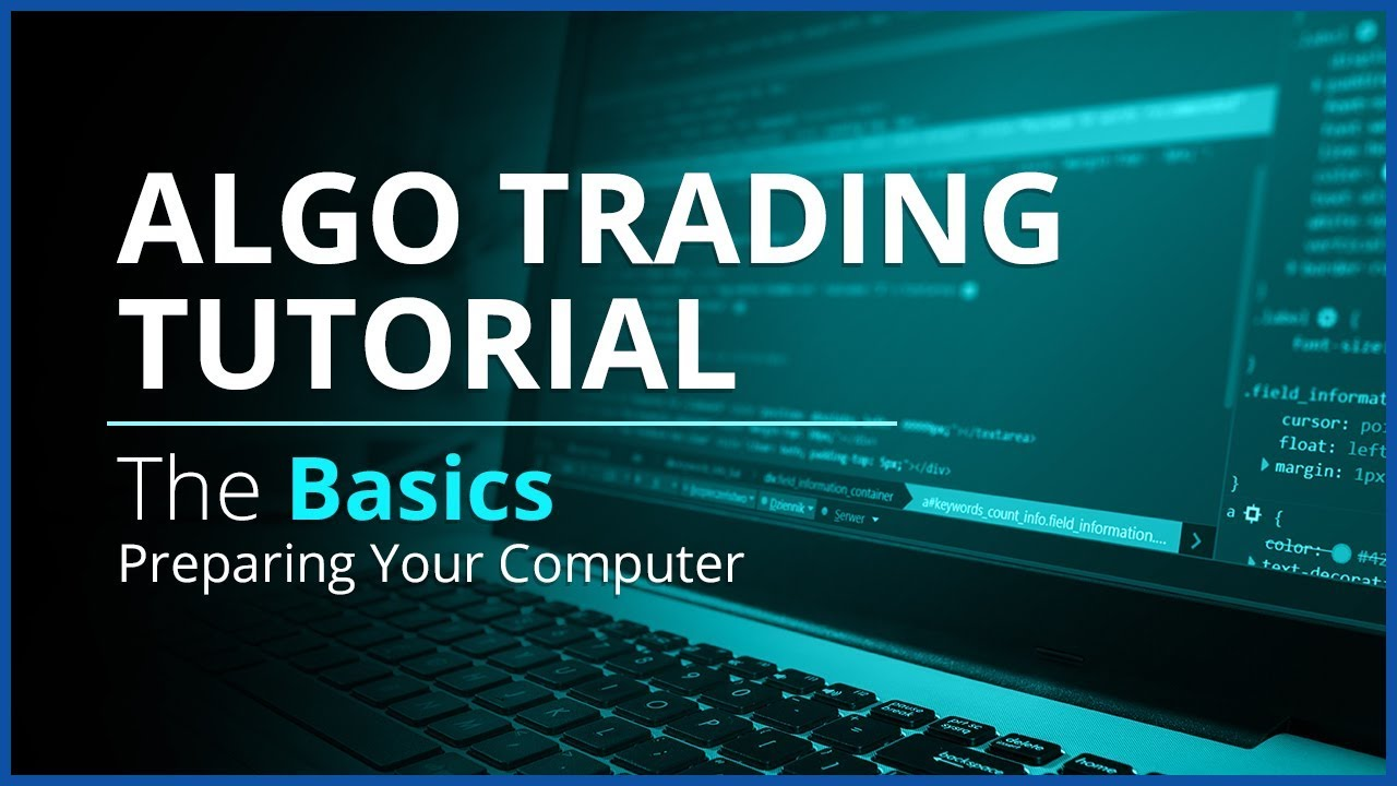 Algo Trading with REST API and Python | The Basics - Preparing Your Computer