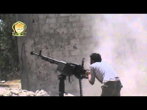 ريف دمشق التصدي للطيران الحربي في سماء الغوطة الشرقية 7 11 2014
