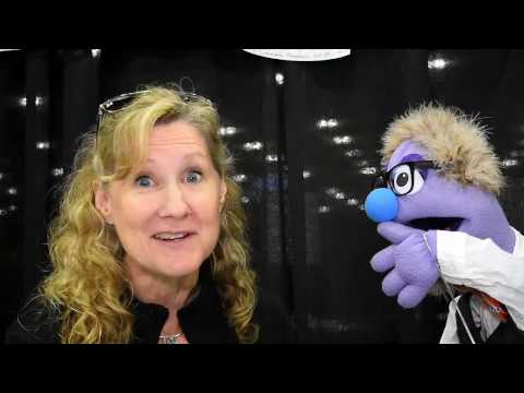 That time voice actress Veronica Taylor talked to a puppet at Stan Lee