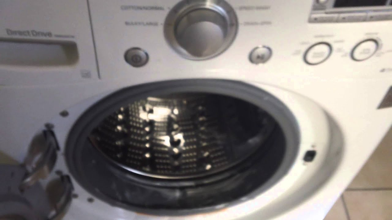 Review LG WM2050CW washer and LG DLE2050W dryer