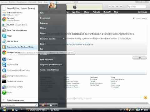 como crear una cuenta en itunes/app store sin targeta de credito (español)