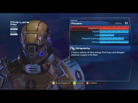 Mass Effect 3 - Project Phoenix (Ex-Cerberus) Adept Build (Gold/Reapers/Firebase White)