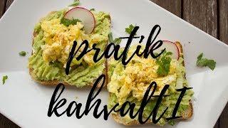 Pratik Kahvaltılık: Ekmek Üstü Avokado & Poşe Yumurta   Simple Poached Egg and Avocado Toast Recipe