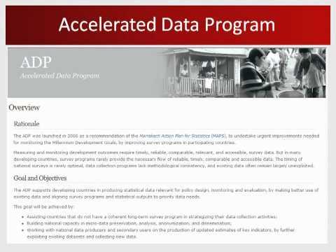 Working With International Data (World Bank)