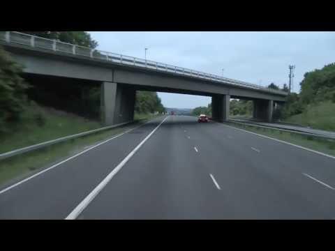 M1 Motorway J32, M18 to J42, M62