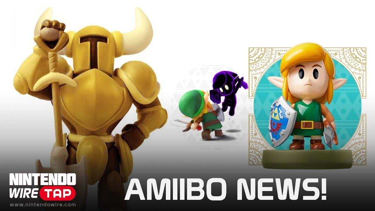 Link S Awakening Amiibo Functionality Revealed Golden Shovel Knight Leaked Nintendo Wiretap