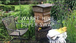 Warre Hive Super Swap