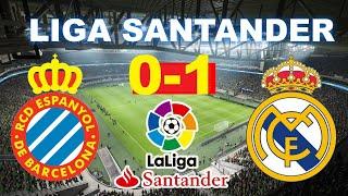 Espanyol Vs Real Madrid 0-1 | Liga Santander 28/06/2020 | Partido Completo Hd