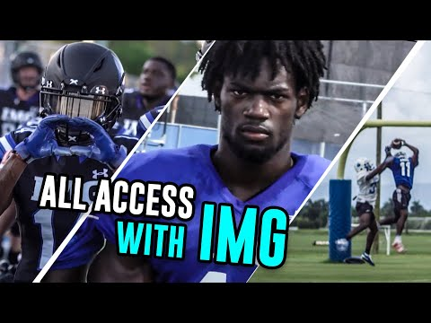 """IMG Is Where You Go To Be A Champion."" 24 Hours Being An IMG Academy Football Player 😱"