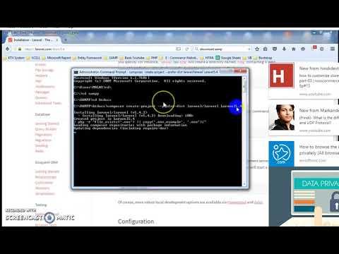 How To Install Laravel|laravel learn