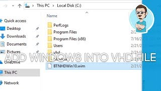 Adding an OS Image to a VHD | Create a Windows Image Tutorial - Part 5