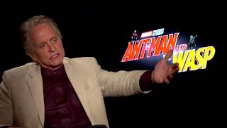 Michael Douglas Talks About Being the Father of the