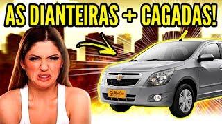 TOP 10 CARROS com DIANTEIRAS + RIDÍCULAS!