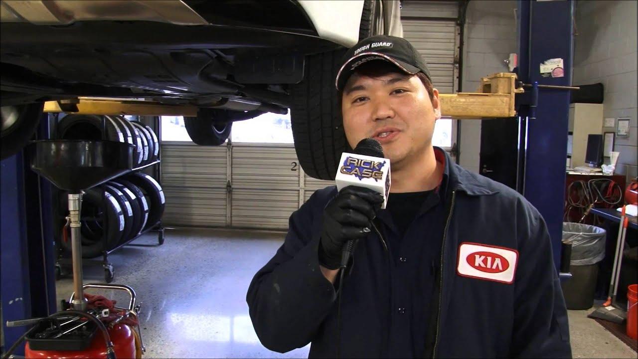 Rick Case Kia Express Lube Service Korean Team Atlanta