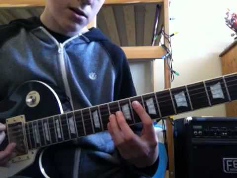 How To Play Bottoms Up By Nickelback On Guitar Youtube