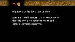 Hajj is one of the five pillars of Islam