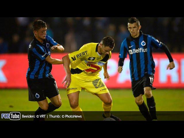 2013-2014 - Cofidis Cup - 01. 16de Finale - SV Oudenaarde - Club Brugge 0-1