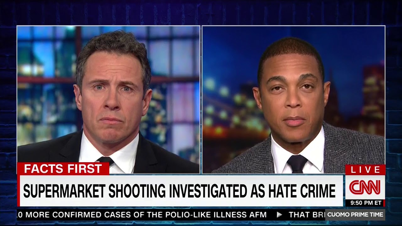 Don Lemon: We shouldn't demonize people and also white men are a terror threat