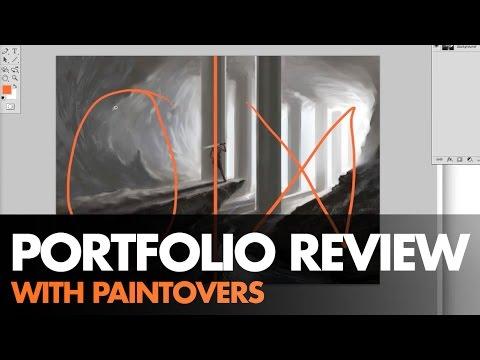 Portfolio Review & Paintovers