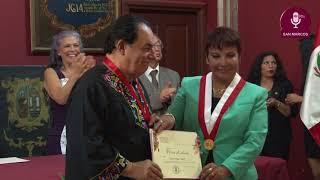Tema:Medalla al Mérito al cantautor nicaragüense Carlos Mejía  Godoy