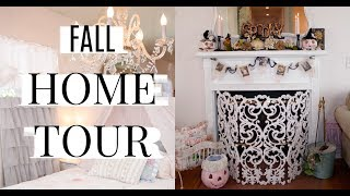 🎃FALL HOME TOUR 🎃 OCTOBER COTTAGE OF THE MONTH ep 19