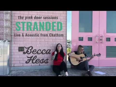Stranded - Live Acoustic - Becca Hess - Pink Door Sessions